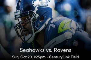 Seahawks vs Ravens 2 tickets for Sale in Lake Stevens, WA
