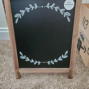 Chalkboard Display Easel for Sale in Boulder City, NV