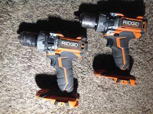 Ridgid 18V used brushless hammer drills.. only $20 each! for Sale in Irving, TX