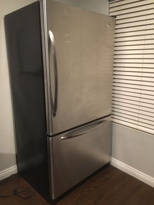 Amana Stainless Steel Coulter Depth Refrigerator for Sale in San Diego, CA