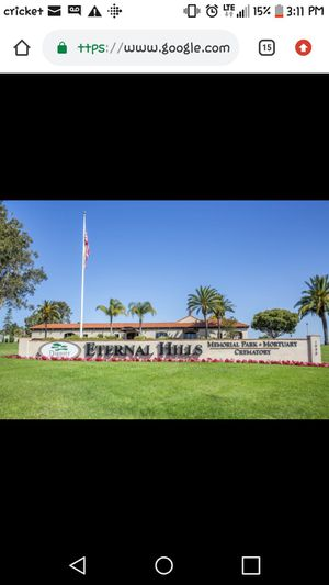 Burial plot for Sale in Poway, CA