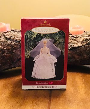 NEW 1997 Hallmark Wedding Day Barbie Collector Series Ornament for Sale in Colorado Springs, CO