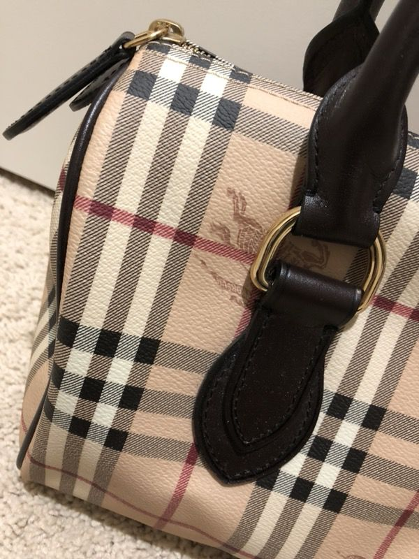 a38be7ce697a Burberry Speedy Haymarket Bag for Sale in Issaquah
