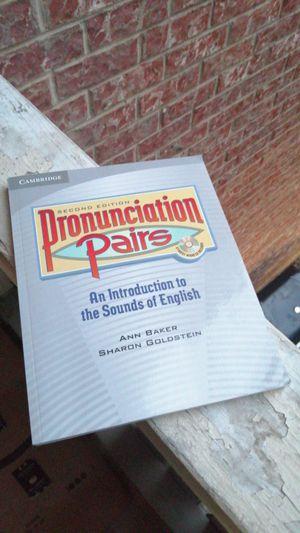 Cambridge pronunciation pairs (2) intermediate level for Sale in Bedford, TX