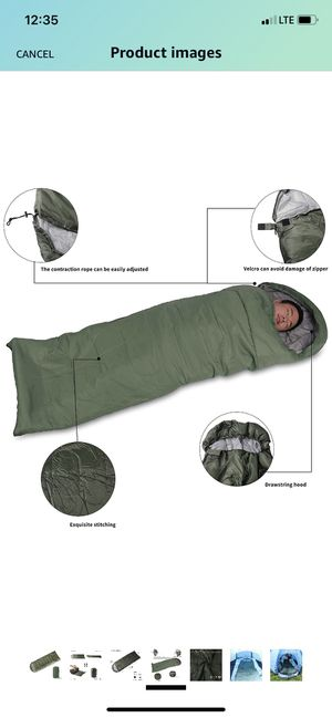 Indoor/outdoor sleeping bag for Sale in Levittown, NY