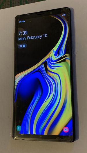 SAMSUNG GALAXY NOTE 9 - UNLOCKED FOR ANY CARRIER for Sale in Cordova, TN