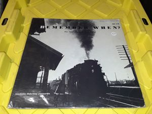 Remember When? Train sounds, whistles vinyl record album for Sale in Downey, CA