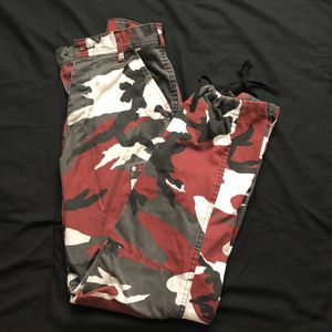 Red Camouflage Pants for Sale in Stockton, CA