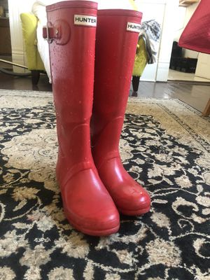 Red Hunter rain boots for Sale in New Orleans, LA