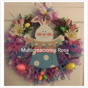 Easter Wreath 18in for Sale in Naples, FL