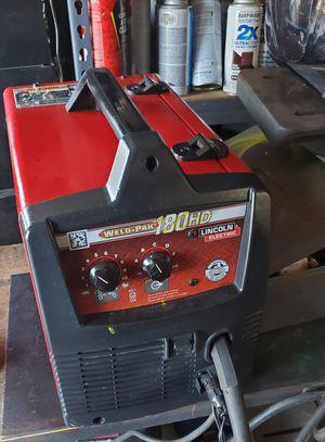 Lincoln 180 welder for Sale in Victorville, CA
