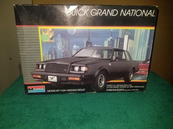 Monogram 1987 Buick grand national turbo model kit