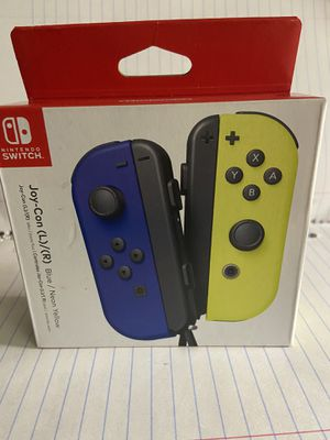 Nintendo switch controller (blue/neon green joy cons) for Sale in Orland Park, IL