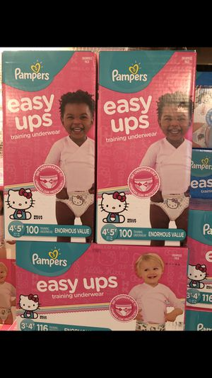 Pampers Easy-UPS 3t-4t ($25) a box for Sale in Culpeper, VA