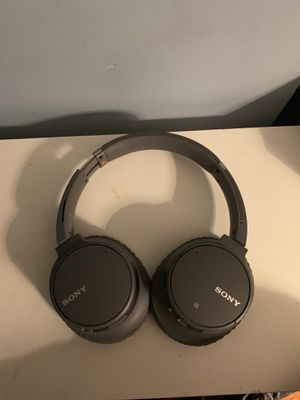 Sony - WH-CH700N Wireless Noise Cancelling Over-the-Ear Headphones - Black for Sale in Washington, DC