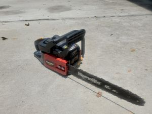 """Homelite Ranger chainsaw 16"""". Lightly used for Sale in Clermont, FL"""