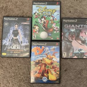 PS2 Game Lot for Sale in Brier, WA