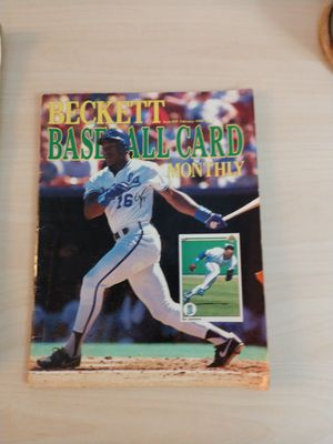Beckett Baseball Card Monthly Issue 59 1990 Bo Jackson Cover for Sale in San Diego, CA