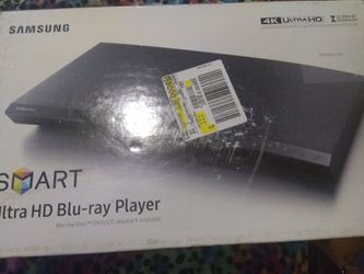 Samsung smart ultra HD Blu-ray player for Sale in Madison Heights,  VA