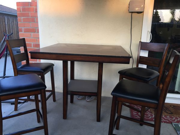 Standard Furniture Counter Height Dining Table Set