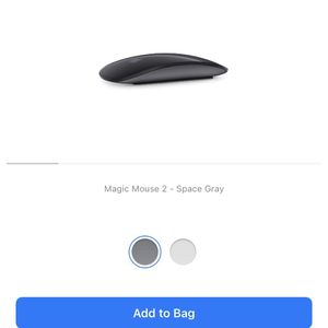 Apple Magic Mouse 2 Space Gray for Sale in Union City, CA