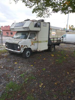 One of a kind GMC converted Camper for Sale in Warren, MI