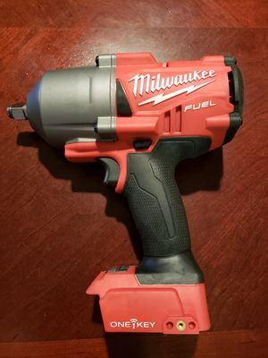 NEW Milwaukee M18 FUEL ONE-KEY M18 Brushless Cordless 1/2 in. Impact Wrench with Friction Ring 1400 Lbs torque (Tool-Only) 🛑PRICE FIRM🛑 for Sale in Spring, TX