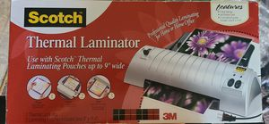 Scotch Thermal Laminator TL901 for Sale in Tacoma, WA