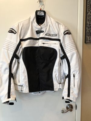 Motorcycle jacket & comes w black lining warm jacket for Sale in Vallejo, CA