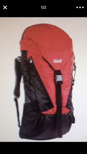 Coleman Etesian Backpack, 45-Lite, Red New for Sale in Wildomar, CA