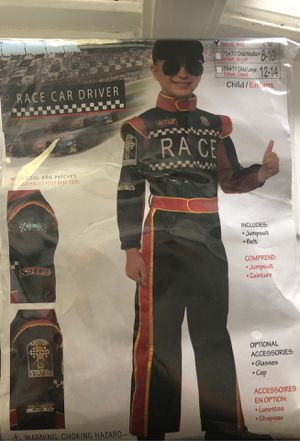 Race car driver costume for Sale in Holyoke, MA