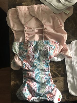 Cloth diapers with inserts for Sale in Navarre, FL