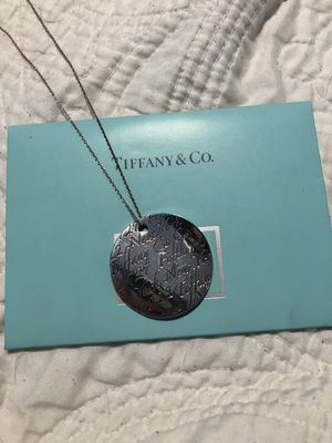 Silver Tiffany and company necklace for Sale in Denver, CO