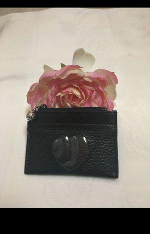 Brighton Black Leather Cardholder for Sale in Abilene, TX