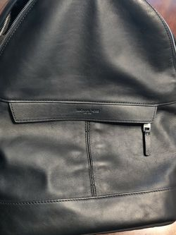 Michael Kors Unisex Black Leather Backpack for Sale in Raleigh,  NC