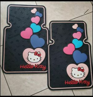 Hello Kitty Heart with Bow. Car Floor Mat Set for Sale in Phoenix, AZ