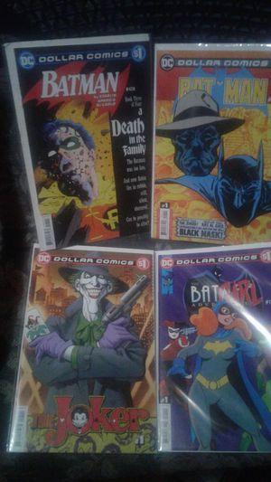 Batman & joker books for Sale in Amory, MS