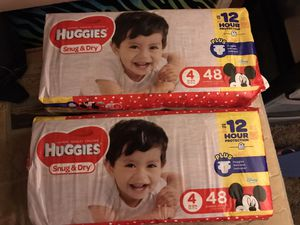 Huggies Snug & Dry size 4 diapers for Sale in Portland, OR