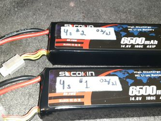 4s Lipo Batteries 100c ( Traxxas, Arrma, Losi ) for Sale in Lombard,  IL
