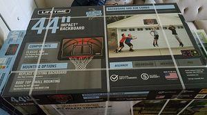 New Impact Backboard Adjustable basketball hoop for Sale in Arlington Heights, IL
