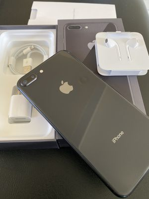 IPhone 8 Plus 256gb space gray unlocked (desbloqueado para todas las compañías) for Sale in Monterey Park, CA