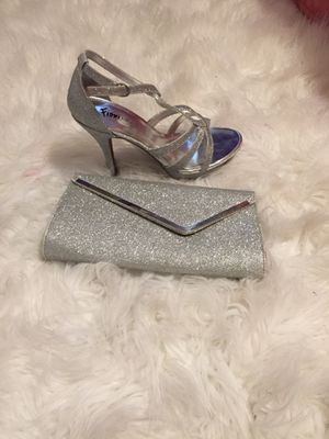 Perfect Clutch and Shoe for Date Night for Sale in Bettendorf, IA