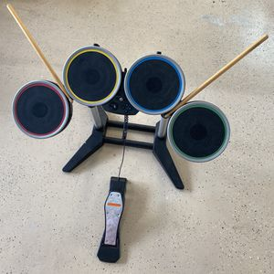 Nintendo Wii Guitar Hero Drum Set for Sale in West Palm Beach, FL