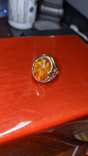 Amber 10k ring for Sale in San Jose, CA