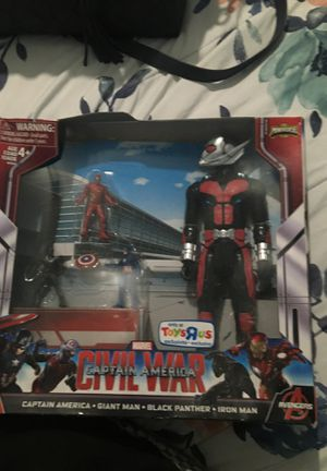Mini verse Captain America civil war toy only at Toys R us for Sale in Ontario, CA
