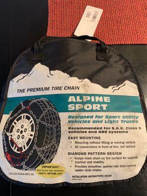 Alpine Sport Premium Tire Chains for Sale in Tigard, OR