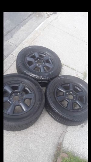 6 lug rims 245/65/17 for Sale in Pittsburg, CA