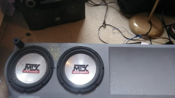 Mtx audio thunder 4500 amp