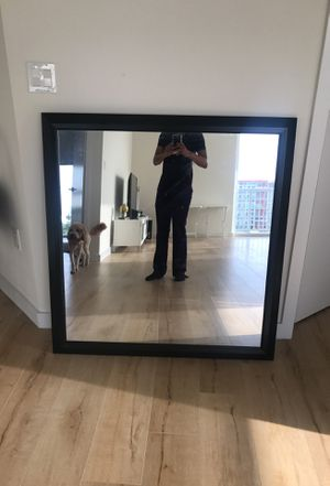 Large brown mirror for Sale in Miami, FL
