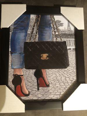 Designer Framed Picture for Sale in Arlington, VA